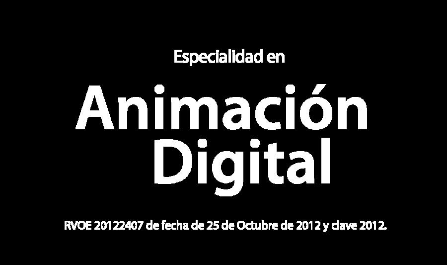 Especialidad en Animación Digital